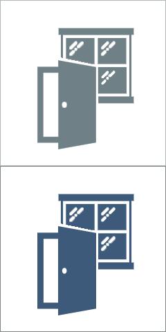 Na okna i na drzwi