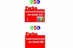 Farba wodorozcieńczalna na metal LG i BB