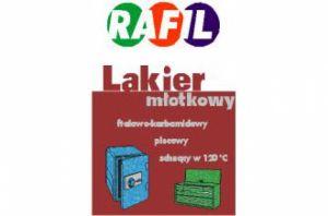 Lakier ftalowo – karbamidowy młotkowy schnący w temp. 120°C