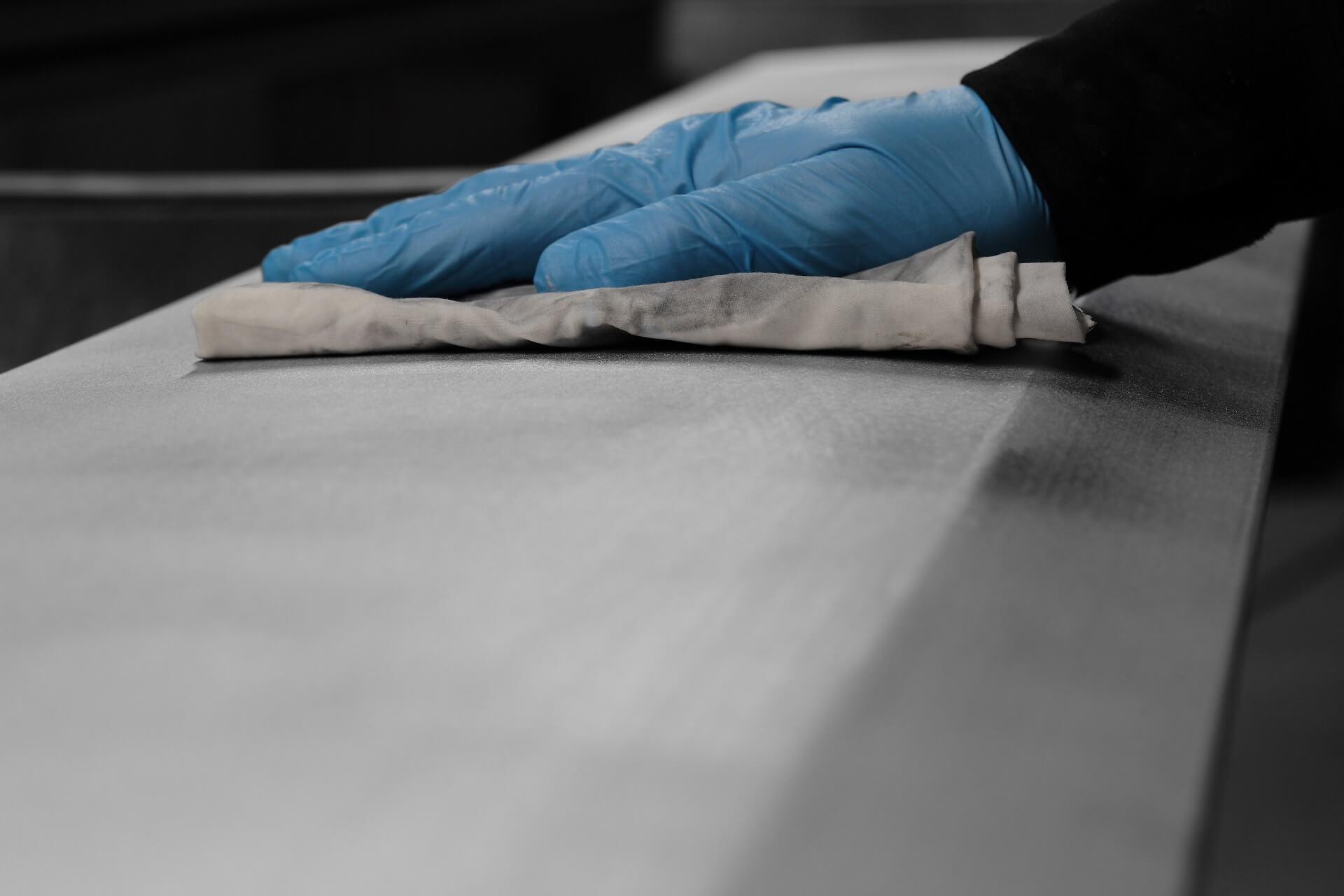 Kontrola przygotowania powierzchni do malowania